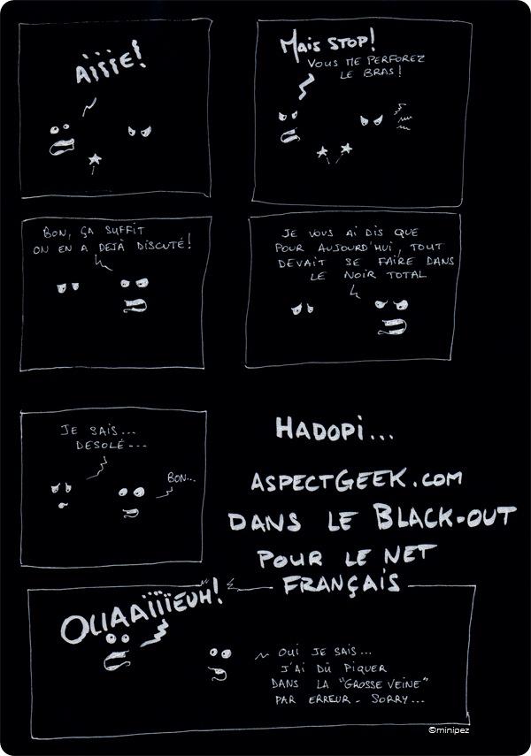blackout hadopi